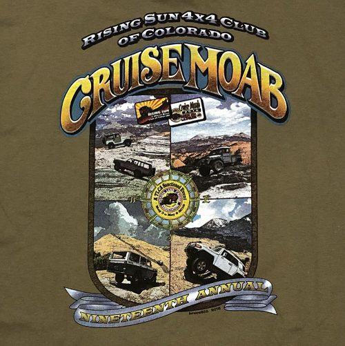 """2016 """"Cruise Moab Nineteen"""" T-Shirt"""